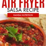 homemade airfryer salsa
