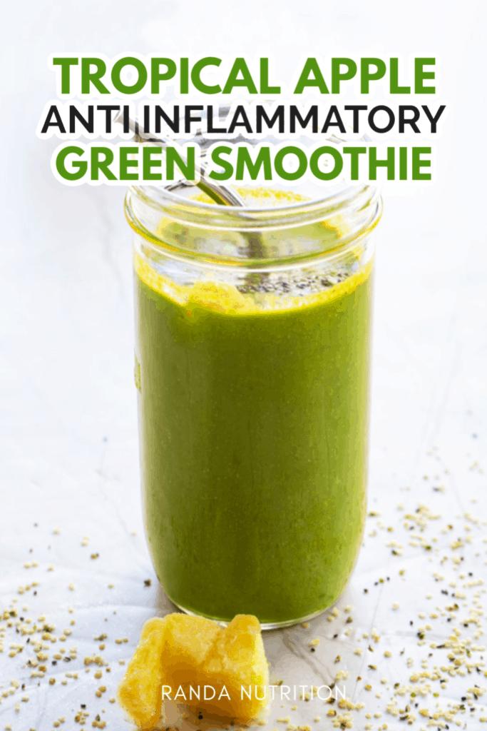 anti inflammatory green smoothie