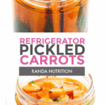 refrigerator pickled carrots