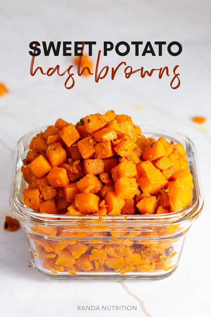 sweet potato hashbrowns recipe