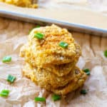cauliflower hash brown patty recipe breakfast