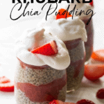 healthy strawberry rhubarb pudding