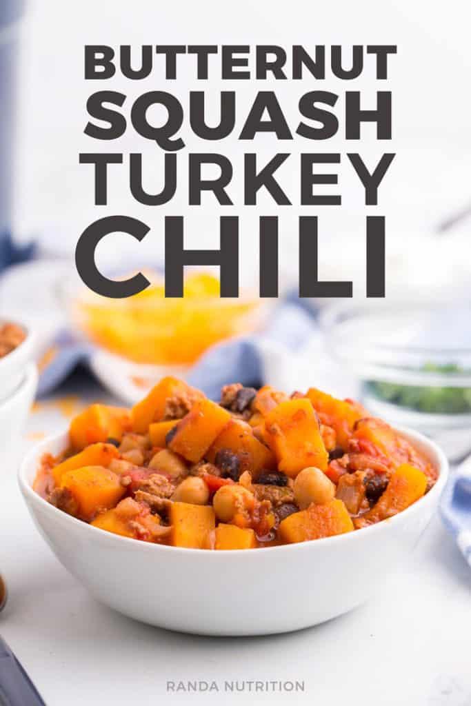 butternut squash turkey chili recipe
