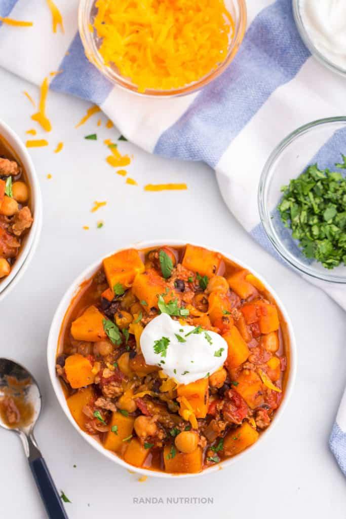 meal prep chili recipe