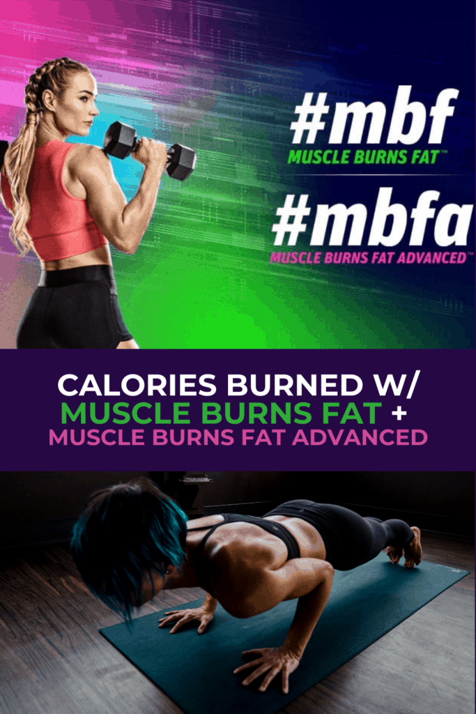 calories burned doing muscle burns fat