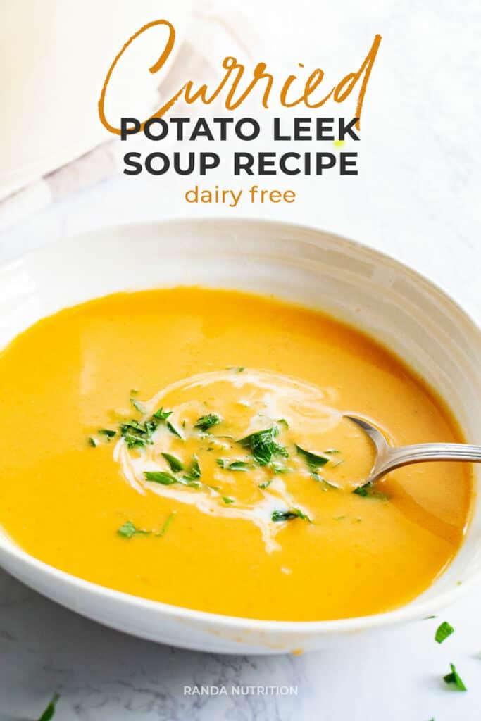 curry potato leek soup recipe