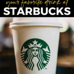 How to order healthy Starbucks