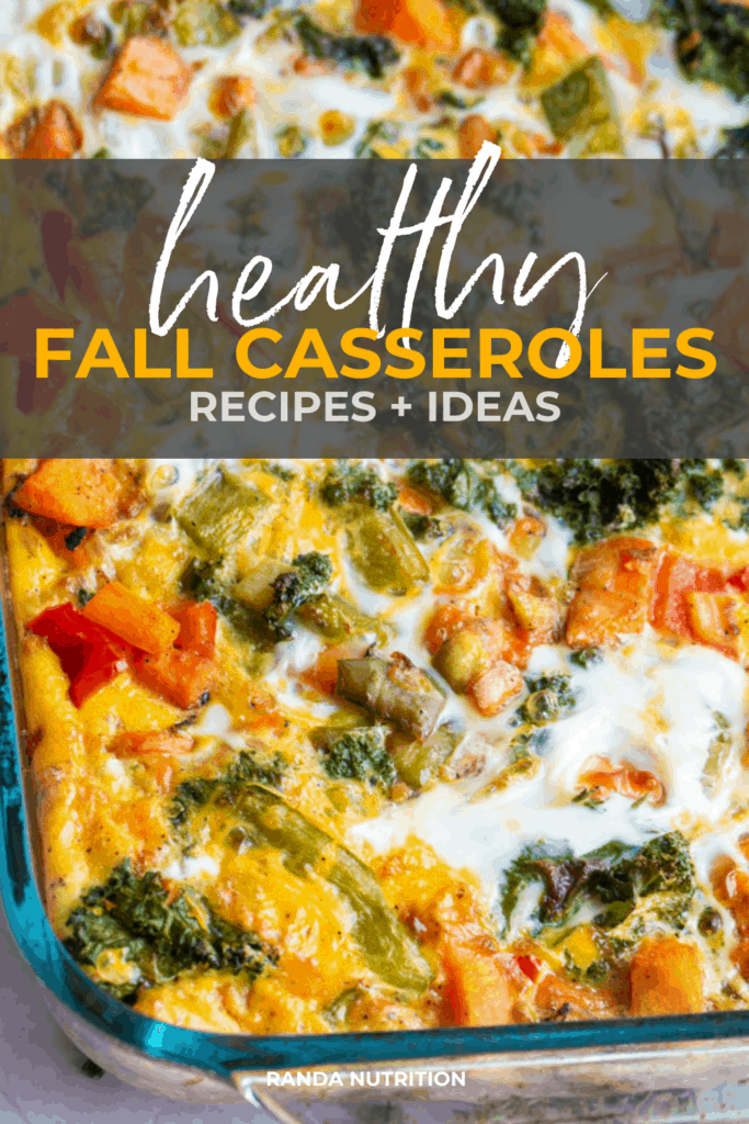healthy fall casseroles