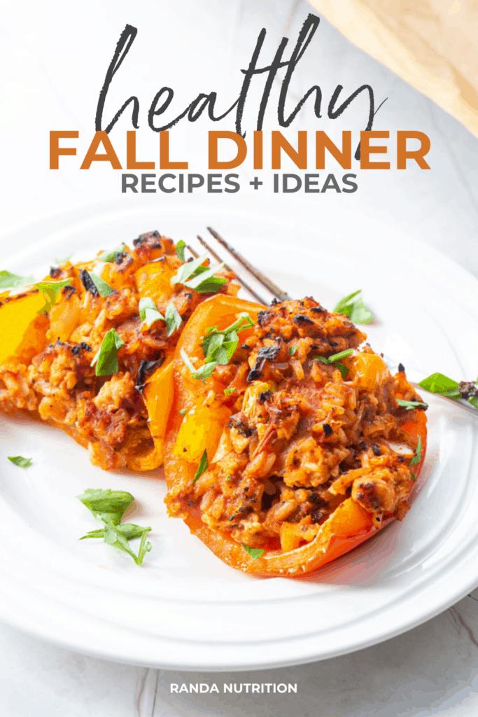 healthy fall dinner ideas