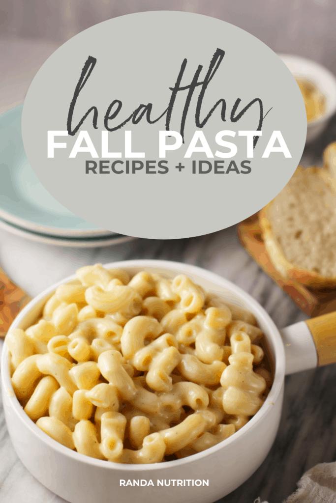 healthy fall pasta recipes