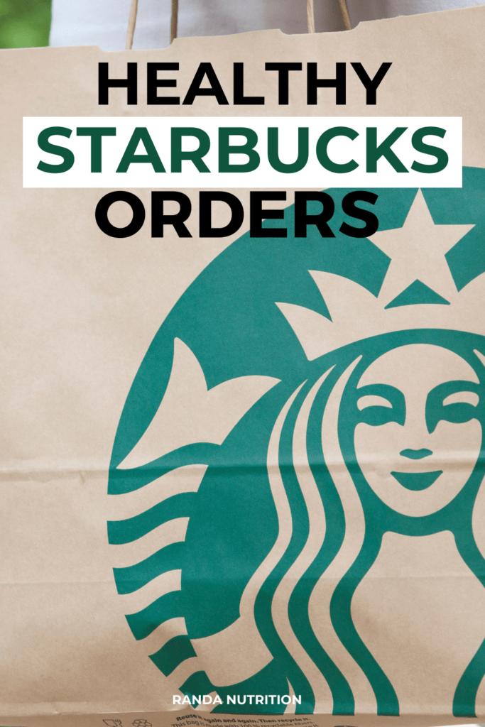 healthy starbucks orders