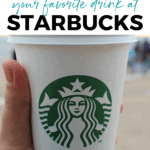 how to health up your favorite drink at Starbucks