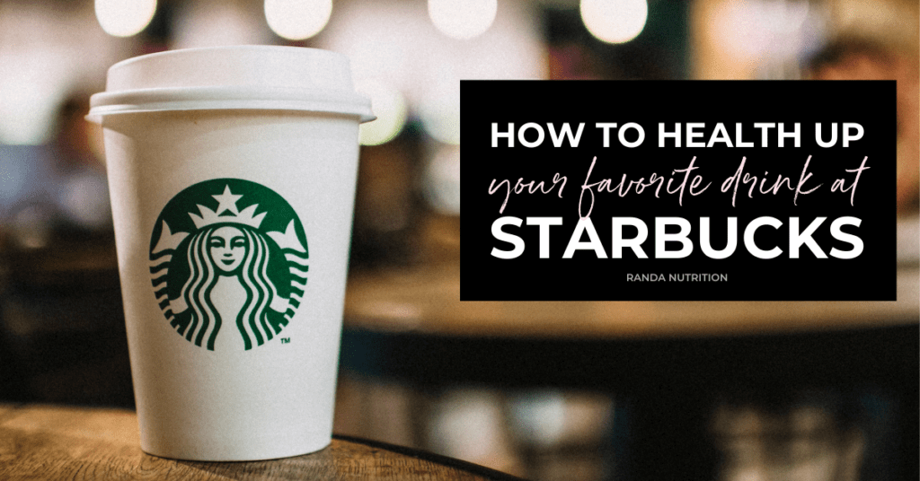 how to health up starbucks
