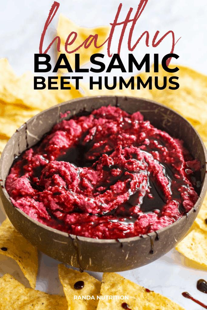 healthy balsamic beet dip recipe