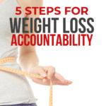 weight loss accountability ideas