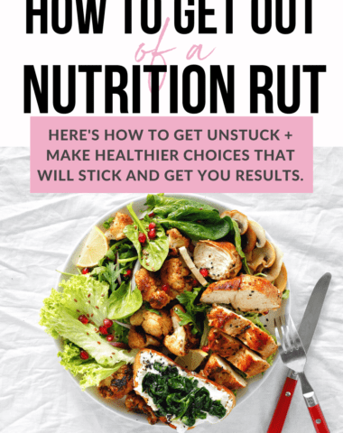 get unstuck with nutrition tips