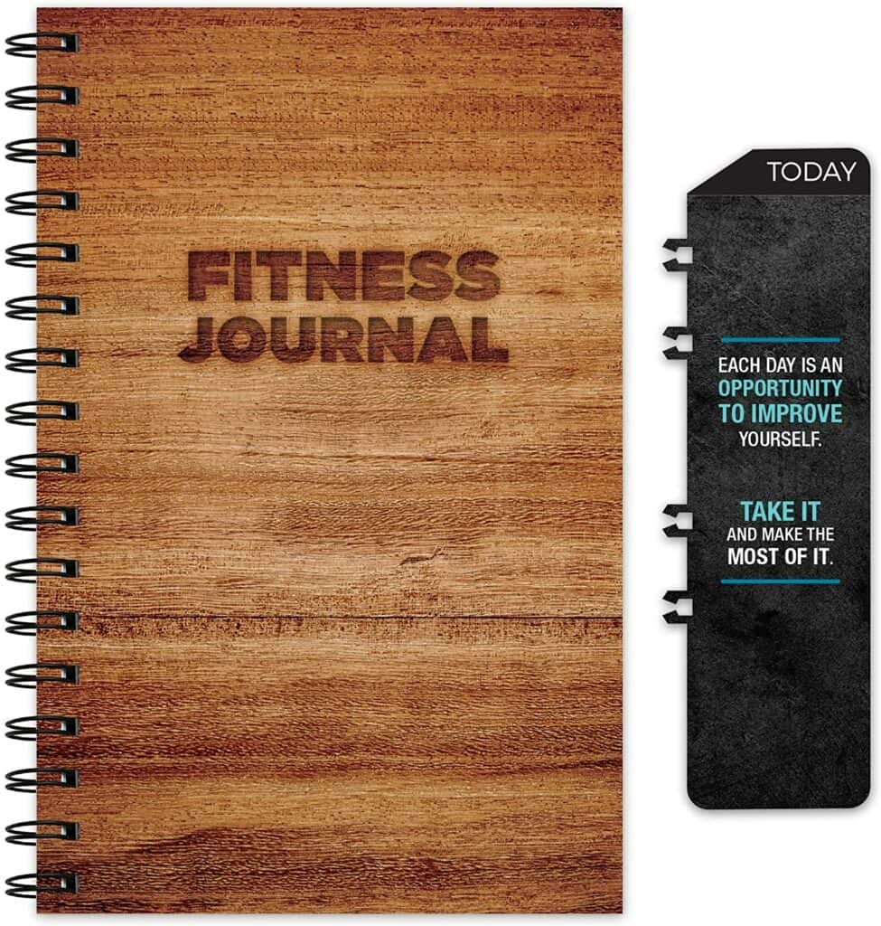 fitness journal, a great gift idea