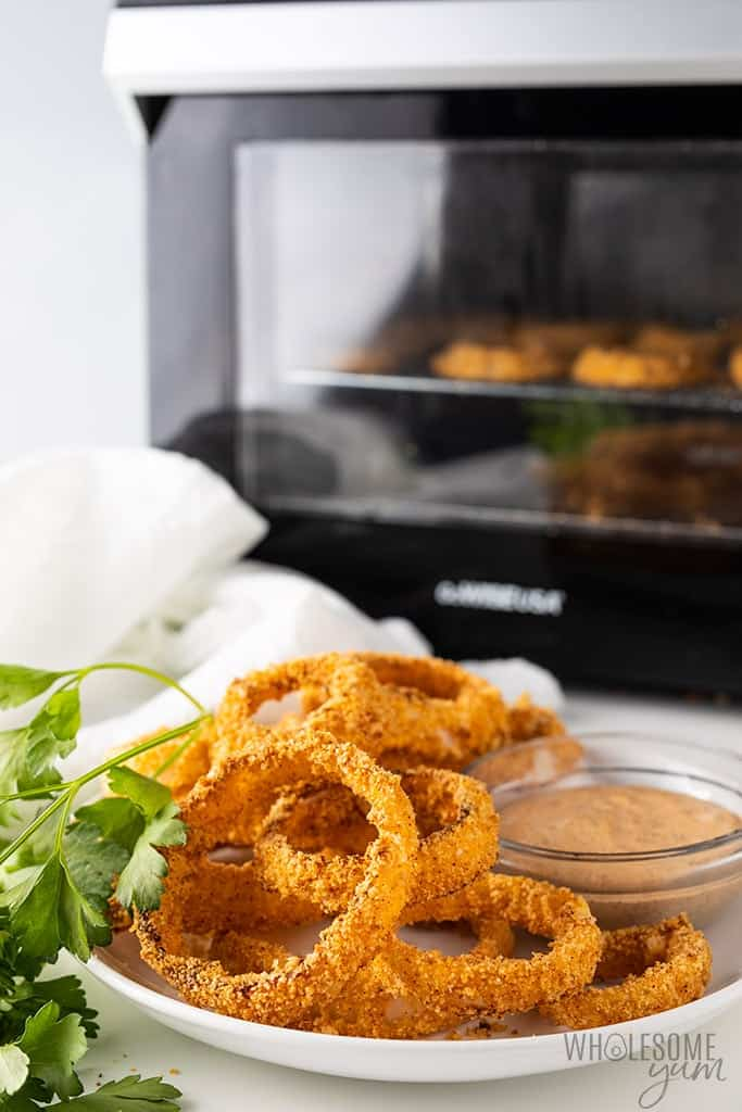onion rings in the air fryer