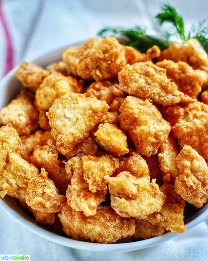 popcorn chicken in the air fryer