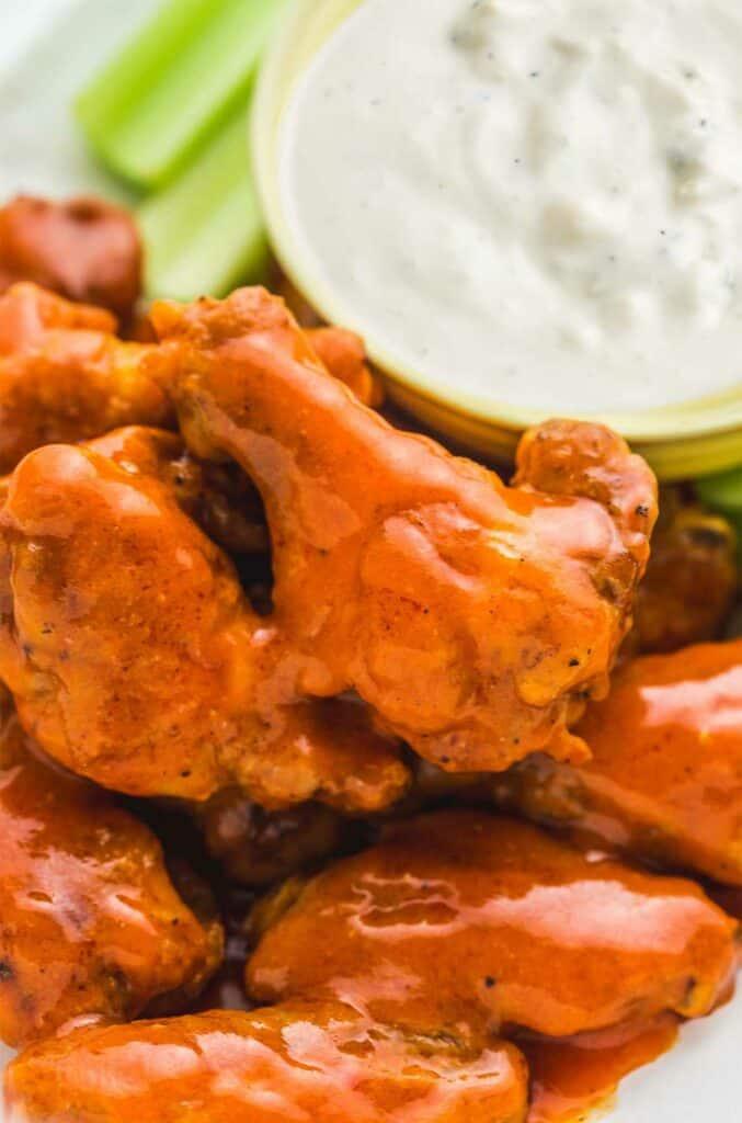 hot wings in the air fryer