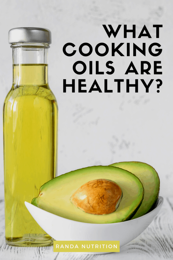 what cooking oils are healthy?