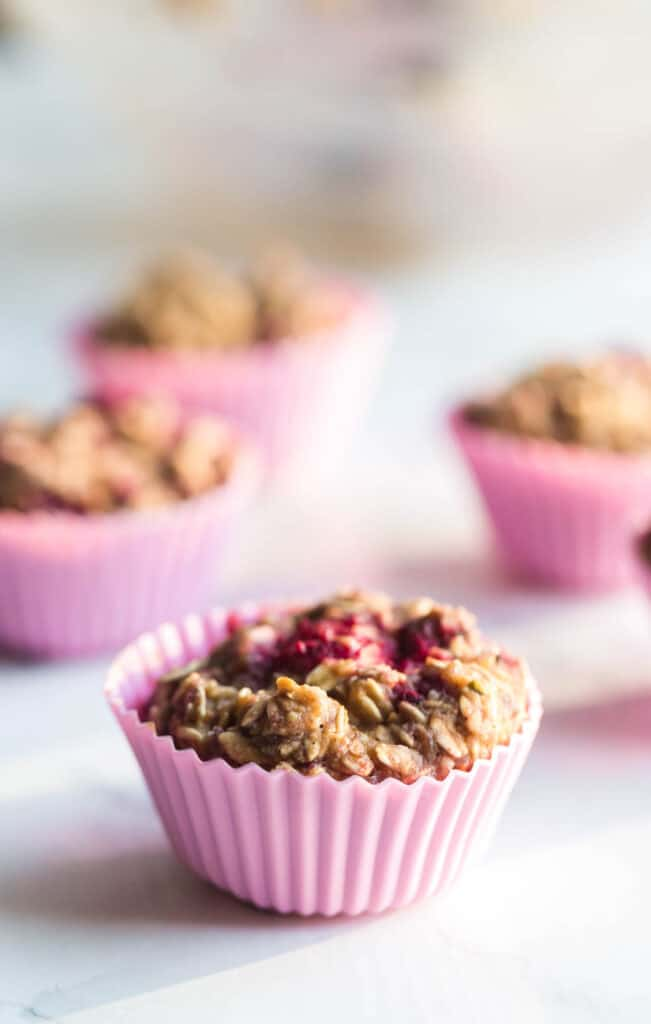 protein oatmeal muffins