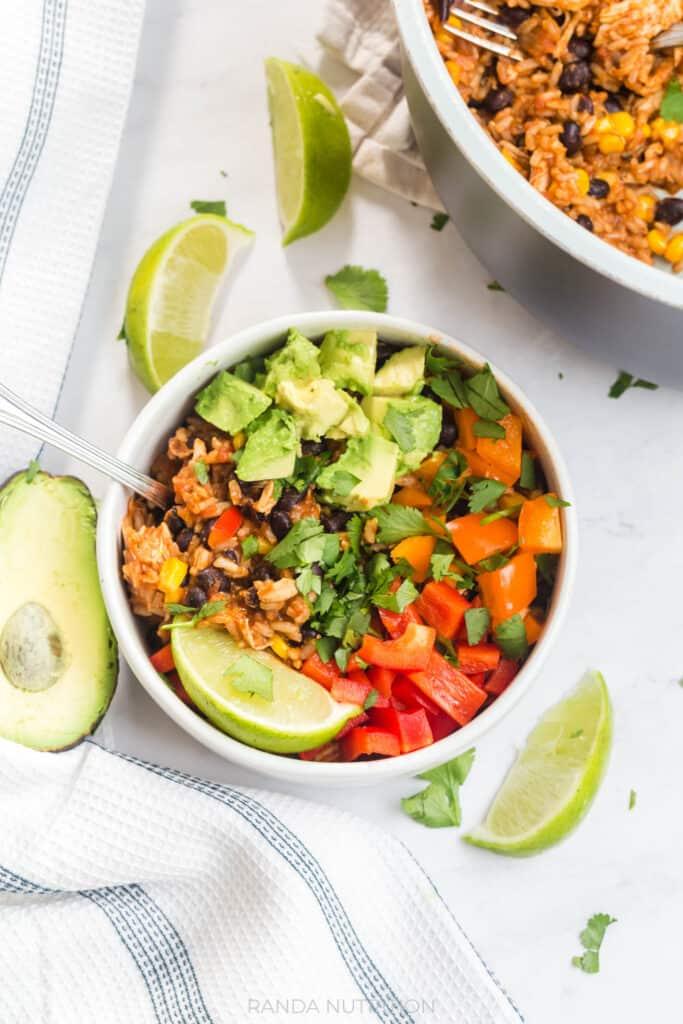 healthy burrito bowl recipe how to