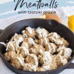healthy greek turkey meatballs