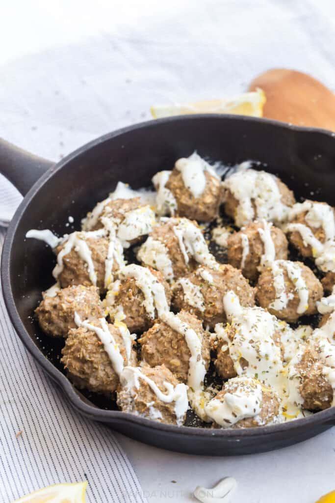 oven baked turkey meatballs recipe