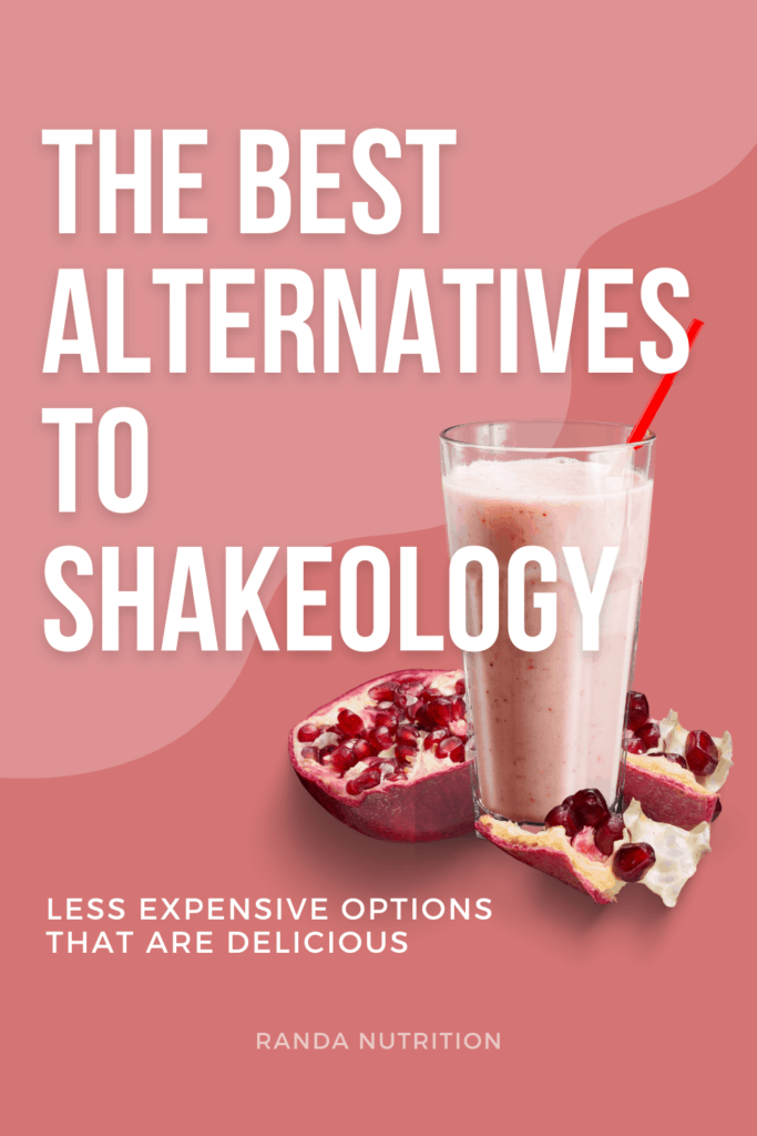 shakeology substitutions