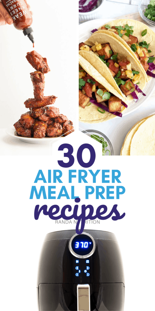 meal prep recipes for the air fryer