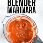 blender marinara