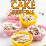 blender carrot cake muffins