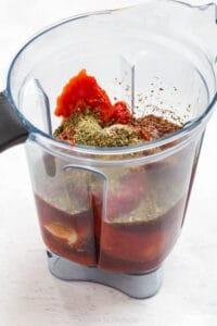 how to make marinara in a blender