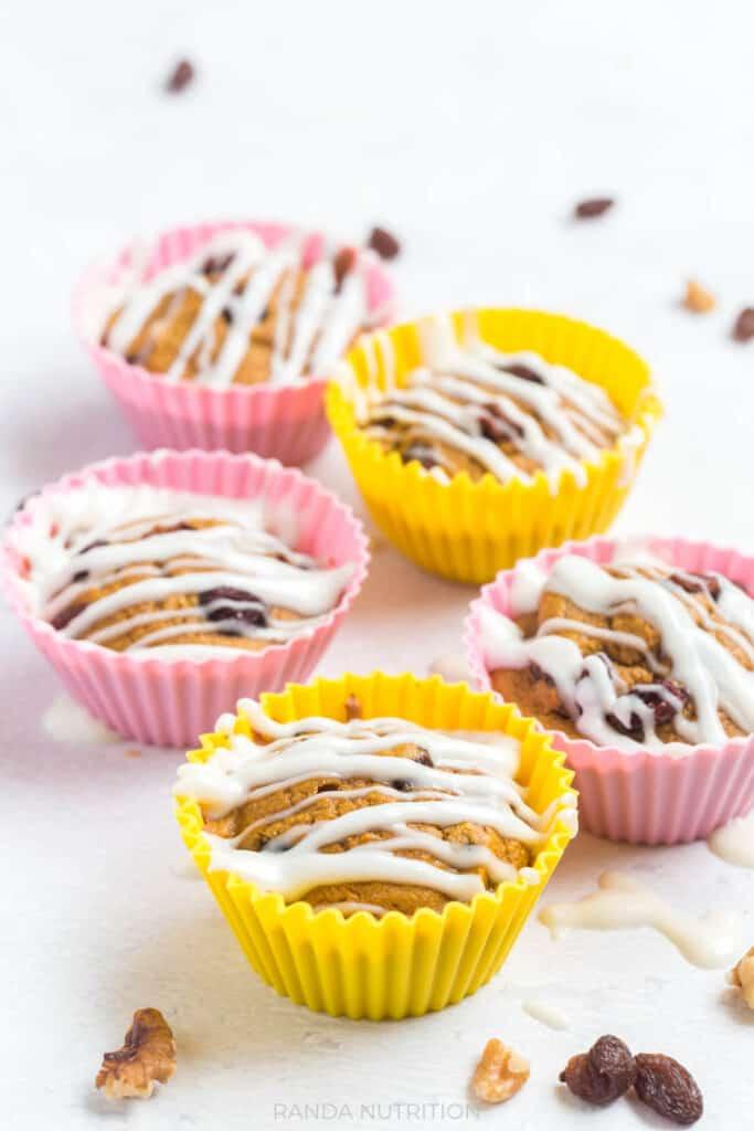 gluten free carrot muffins recipe