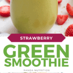 strawberry green smoothie
