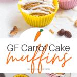 GF Carrot Cake Muffins