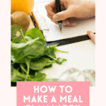 how to make a meal plan work