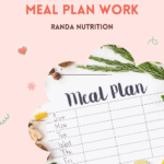 make a meal plan work