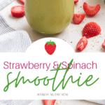 Strawberry Spinach Smoothie