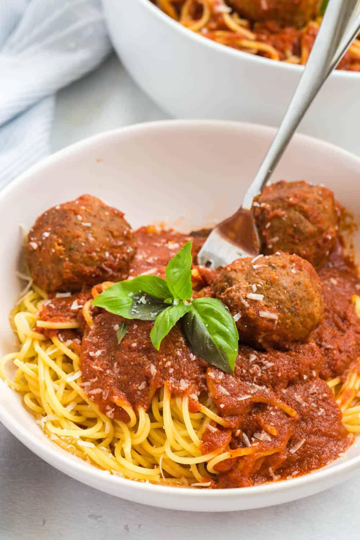 instant pot meatballs and marinara sauce recipe
