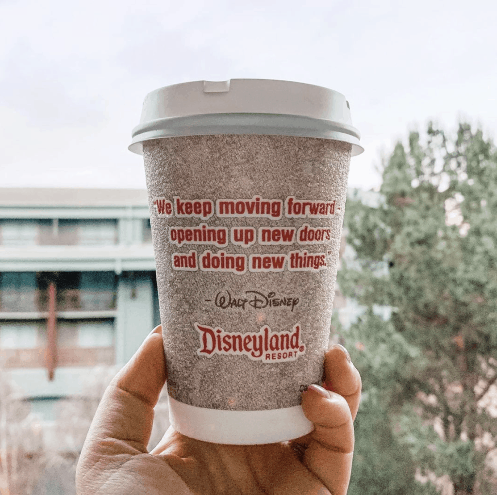 disneyland coffee with quotes