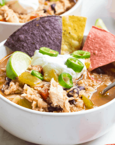 southwest soup with chicken