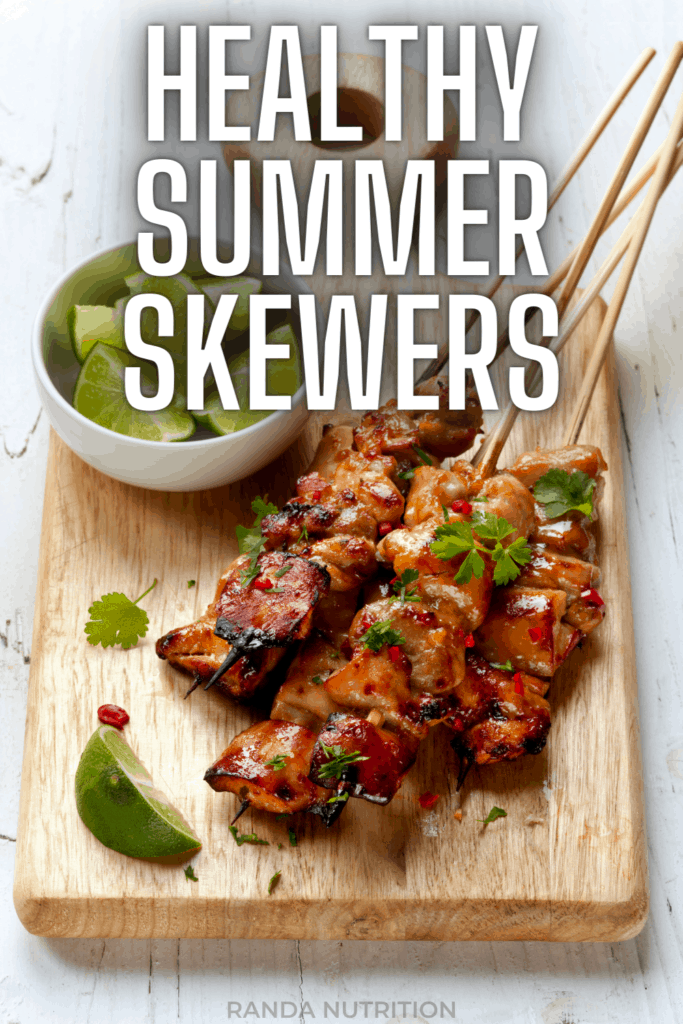 healthy summer skewer recipes