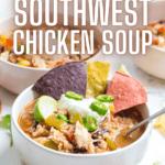 ninja foodi southwest chicken soup