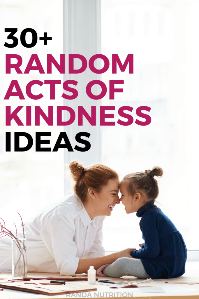 acts of kindness examples
