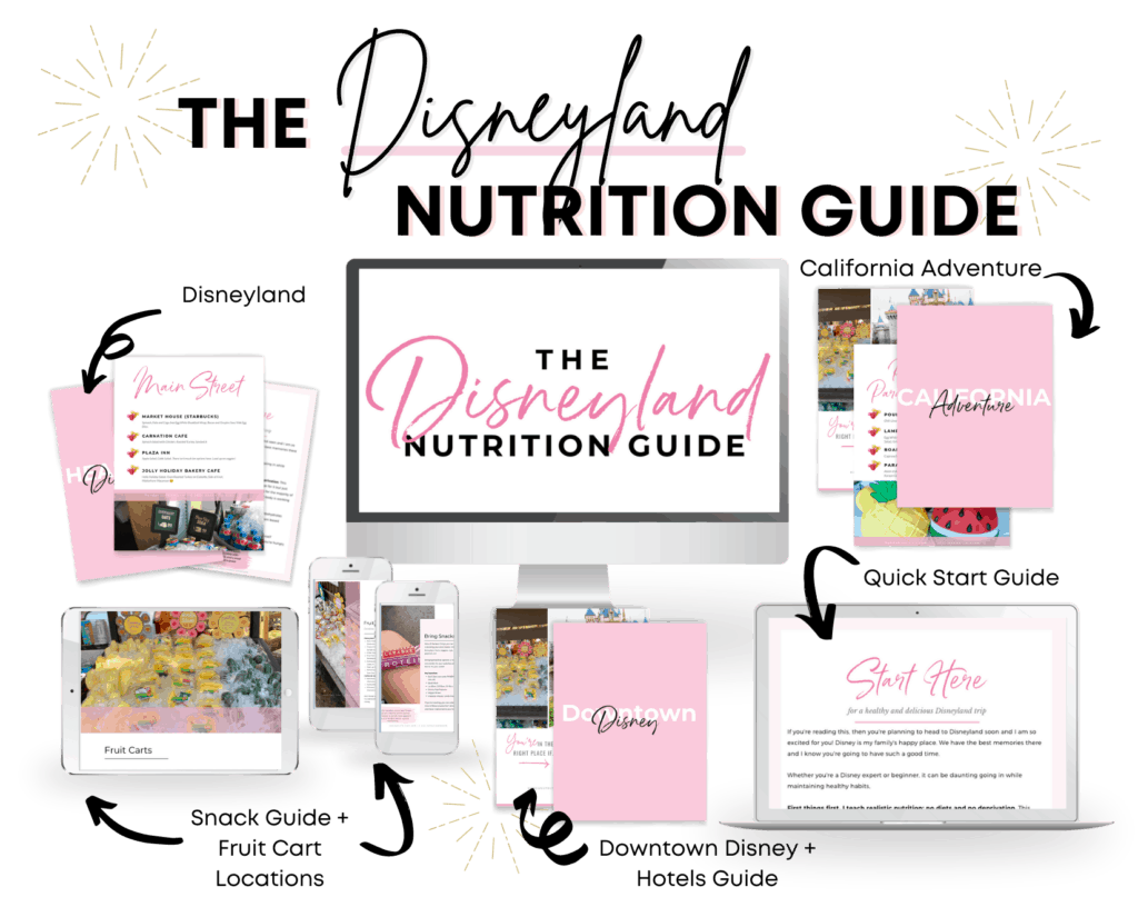 The Disneyland Nutrition Guide