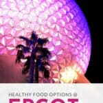 healthy options epcot