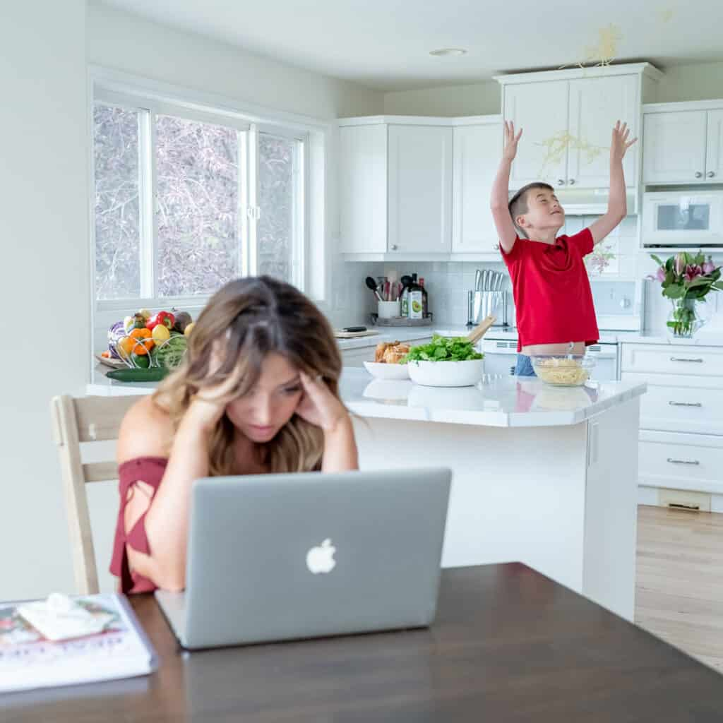 working mom chaos