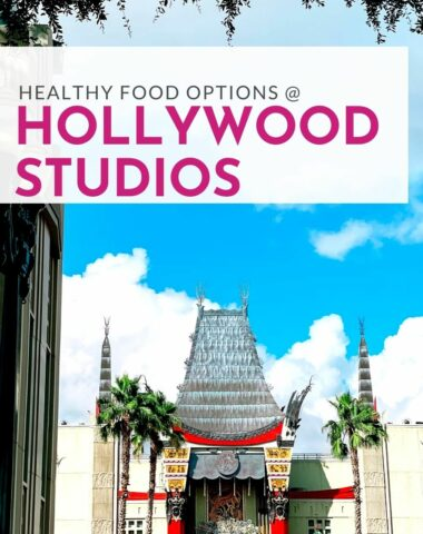 healthy food options at Hollywood Studios